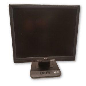 "Acer AL1717 17"" Monitor Black w/ VGA & Power Cord"