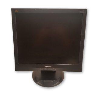 "Viewsonic VA703b 17"" LCD Monitor w/ Power and VGA Cables"