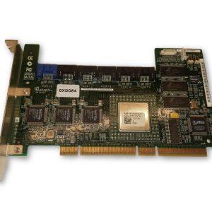 DELL ADAPTEC SG-0XD084 6 PORT PCI X 64MB SATA CONTROLLER DELL XD084